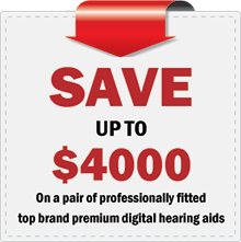Save up to $4000 on Hearing Aids