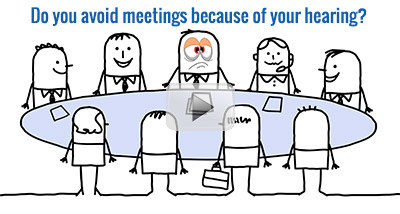 Avoiding Meetings due to Hearing Loss Video