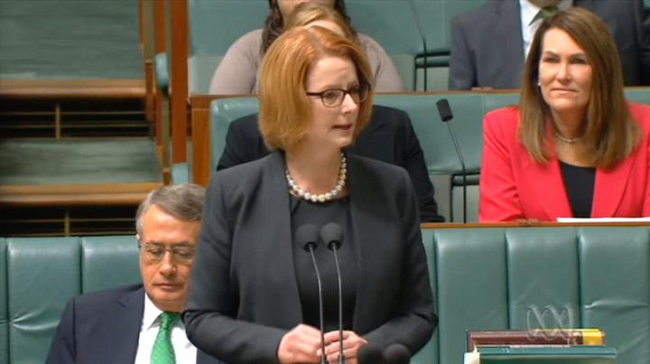 PM Gillard announcing NDIS